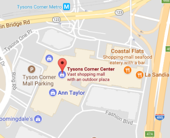 Tysons Corner, VA - Map Reference