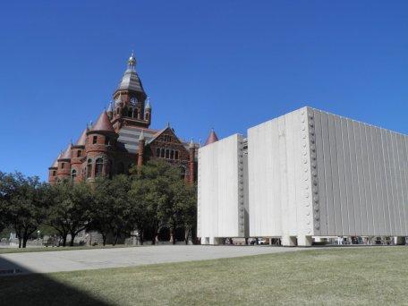 JFK Memorial and Old Red Museum Dallas