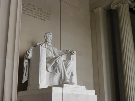 The magnificent Lincoln Memorial