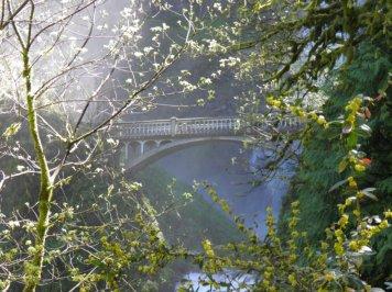 Bridge at Multnomah Falls
