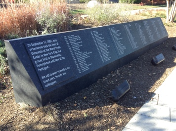 Names of the victims at the Pentagon