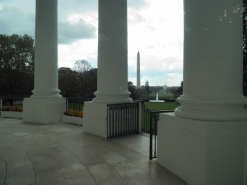 Oval Front of the White House