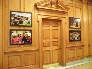 Wood Panelled Hall