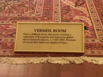 Vermeil Room Sign