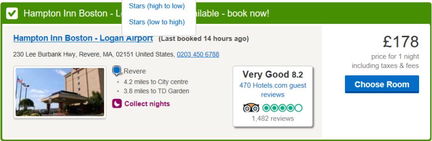 hotels.com may