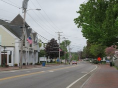 All the buildings in Main Street are Outlet Stores
