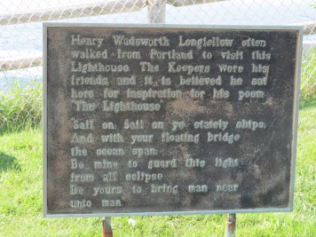Longfellow Plaque