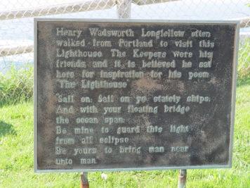 Longfellow Plaque
