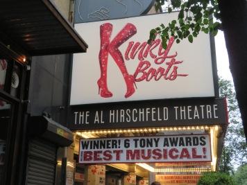 Kinky Boots Al Hirschfeld Theatre
