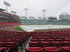 Gloomy day at the ballpark