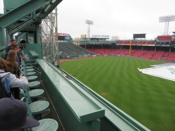 Seating at the Green Monster