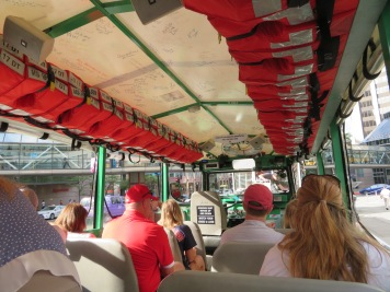 On Board the Duck Tour