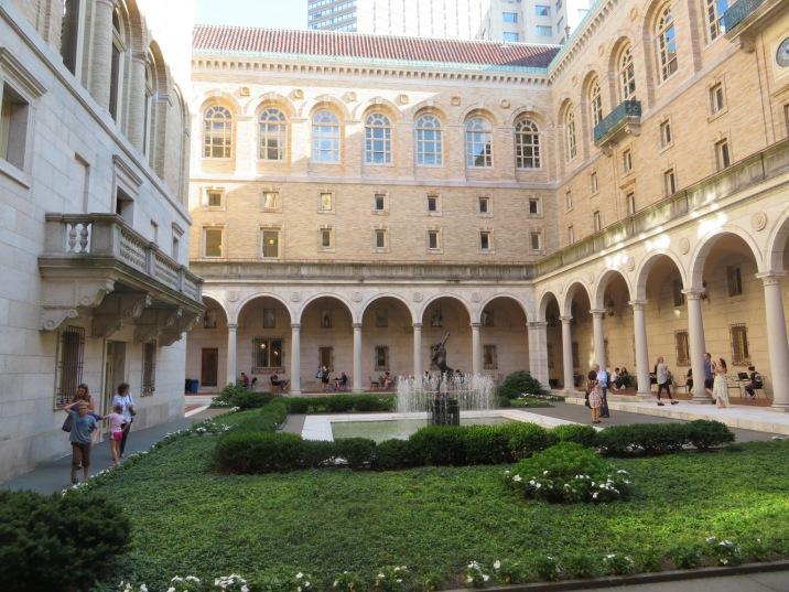 Courtyard Boston Public Library