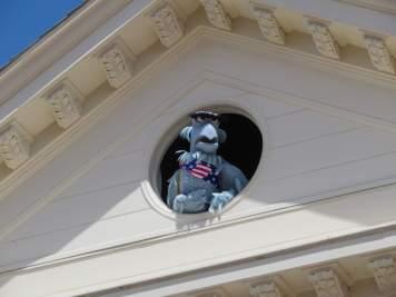 Sam Eagle in Liberty Square
