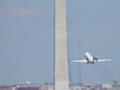 Taking off from DCA