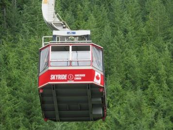 Skyride to Grouse Mountain