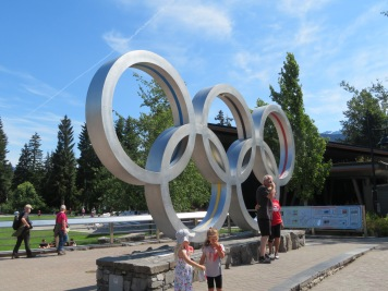 Whistler Village - Olympic Rings
