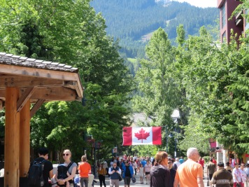 Whistler Village - Canada Day