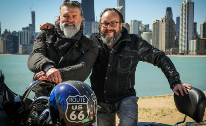 Hairy Bikers Route 66